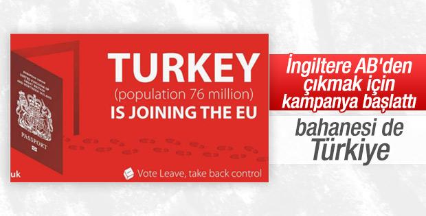 İngiltere'de çirkin Türkiye kampanyası