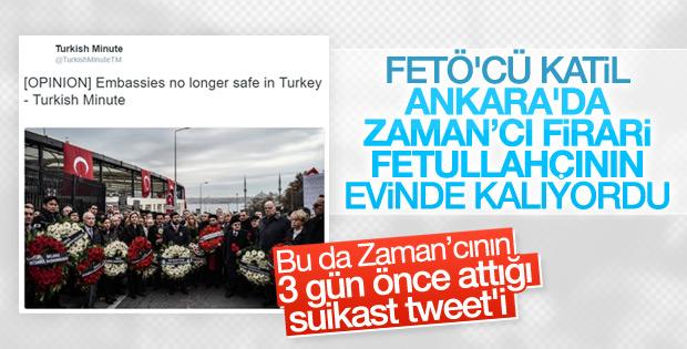 FETÖ'cü Abdullah Bozkurt'un suikast yazısı