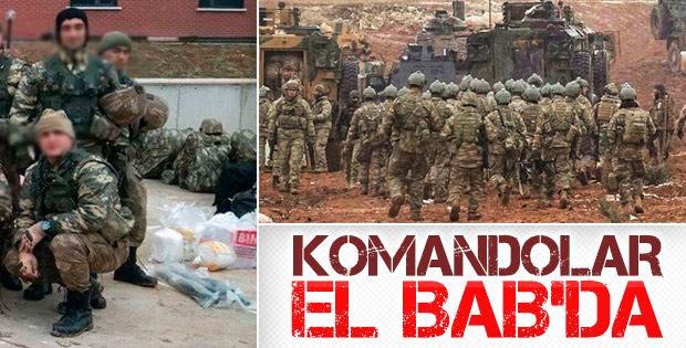 El Bab'a askeri sevkiyat yapıldı