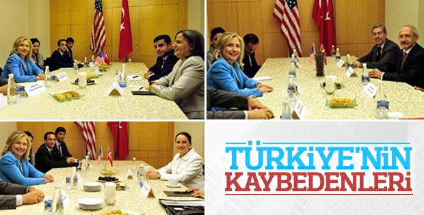 Clinton'a oynayan Türk siyasetçiler kaybetti