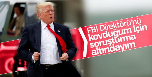 Trump soruşturma altında olduğunu doğruladı