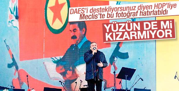 AK Partili ve HDP'li vekiller arasında terör tartışması
