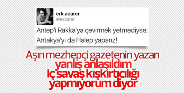 Erk Acarer'den Halep tweeti
