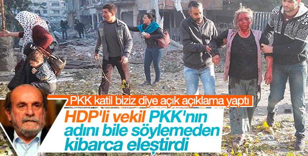 HDP'li Ertuğrul Kürkçü'den PKK'ya tepki