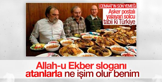 Murat Belge: Allah-u Ekber sloganı atanlarla işim yok