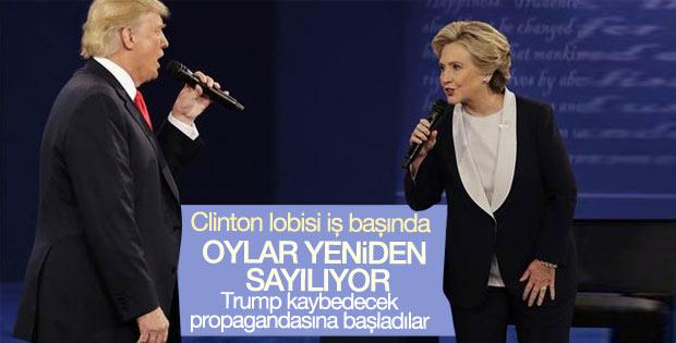 ABD seçimlerinde oylar yeniden sayılıyor