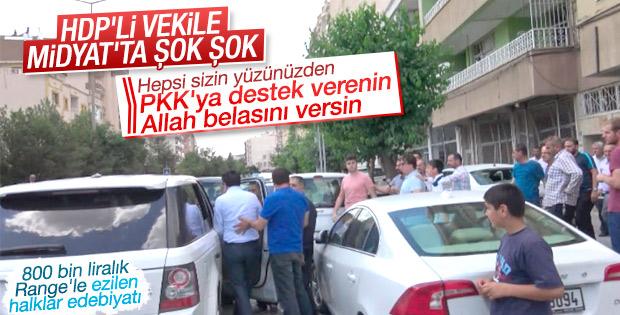 HDP'li Altan Tan'a tepki eyleminin ayrıntıları