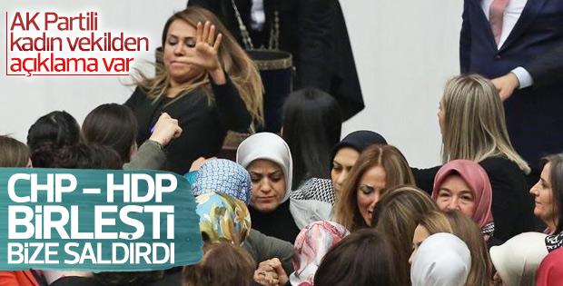 AK Partili Gökçen Özdoğan Enç'e 10 gün rapor verildi