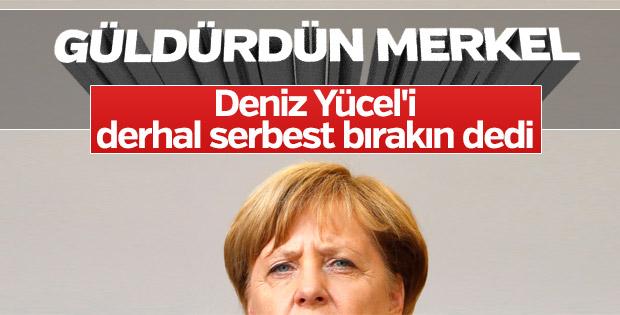 Angela Merkel: Türkiye Alman tutukluları derhal bırakmalı