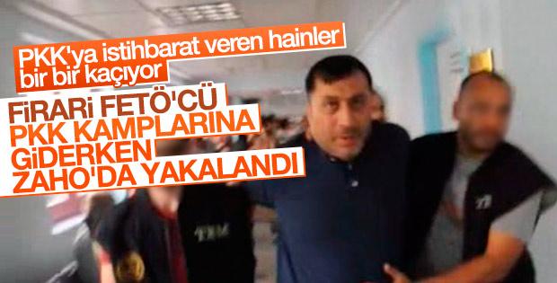 Firari FETÖ'cü emniyet müdürü Zaho'da yakalandı