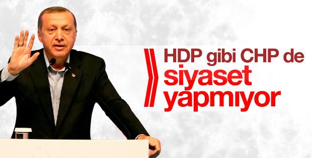 Erdoğan: Batı'da şirazesinden çıkmış bir yapı var
