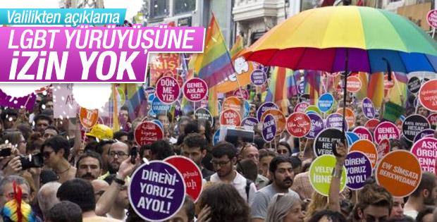Valilik LGBT yürüyüşüne izin vermedi