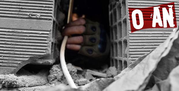 Mardin Nusaybin'de PKK'nın bombaları imha ediliyor