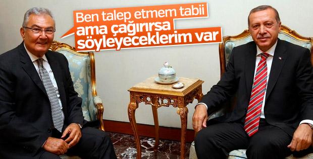 Deniz Baykal: Cumhurbaşkanı isterse anlatırım