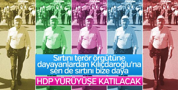 HDP Adalet Yürüyüşü'ne katılıyor