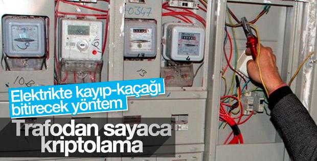 Kaçak elektriğe karşı şifreli çözüm
