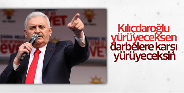 Başbakan Yıldırım Diyarbakır'da konuştu