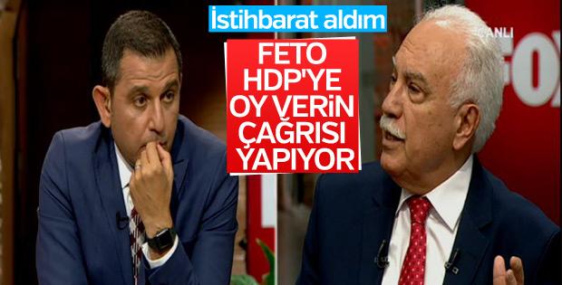 Doğu Perinçek: Gülen, HDP'ye oy verin çağrısı yaptı