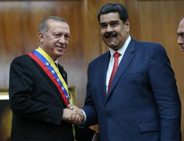 Erdoğan ve Maduro'dan ortak açıklamalar