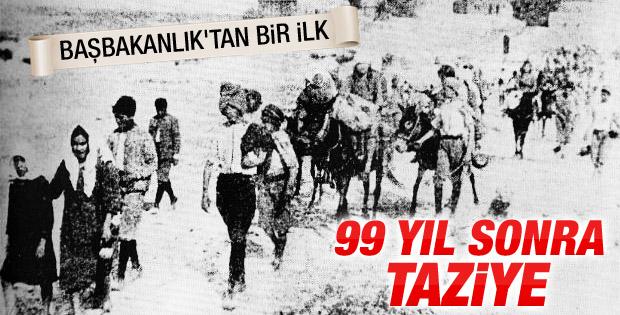 1915'te hayatını kaybeden Ermeniler'e ilk kez resmi mesaj