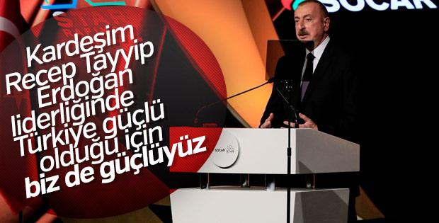 İlham Aliyev SOCAR Star Rafinerisi açılışı için İzmir'de