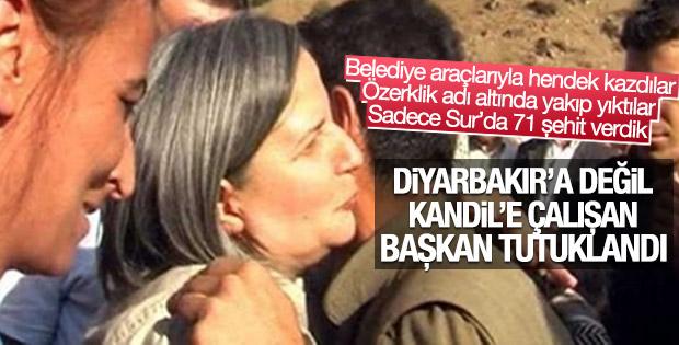 Diyarbakır Büyükşehir Belediye Başkanı Gültan Kışanak tutuklandı