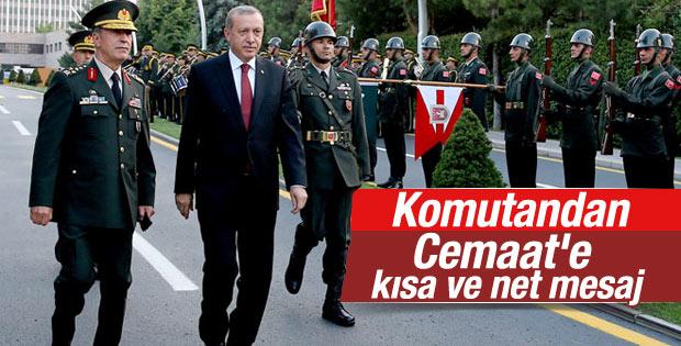 Genelkurmay Başkanı Hulusi Akar'dan ilk mesaj