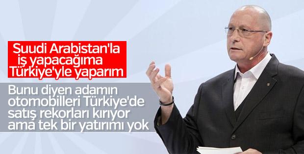 Volkswagen yöneticisi: İş için Türkiye'yi tercih ederiz