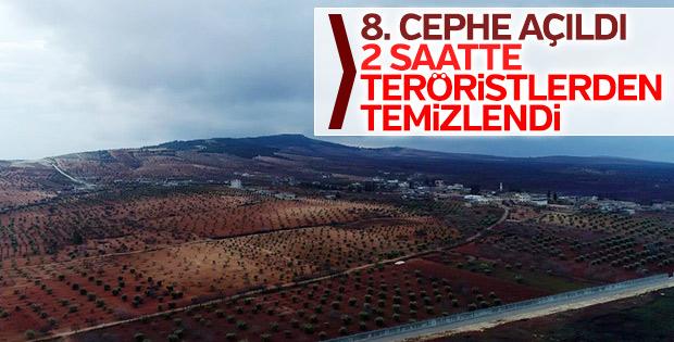 Afrin'de teröristlerden temizlenen Marin Köyü
