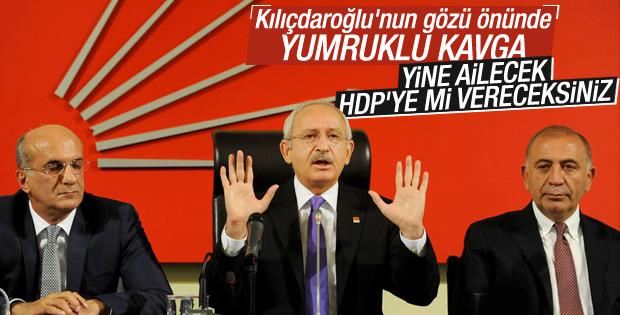 CHP Parti Meclisi'nde kavga çıktı