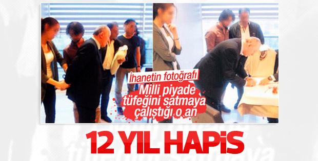 MPT 76'nın projesini satarken yakalanan müdüre 12 yıl hapis