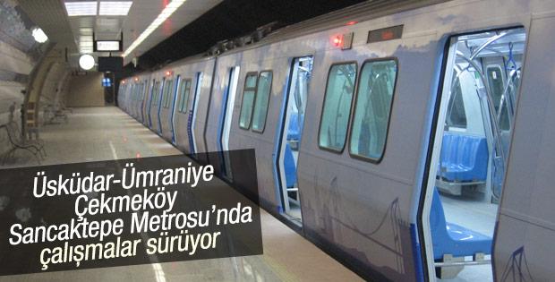 Üsküdar metrosunda tabelalar yerleştirildi