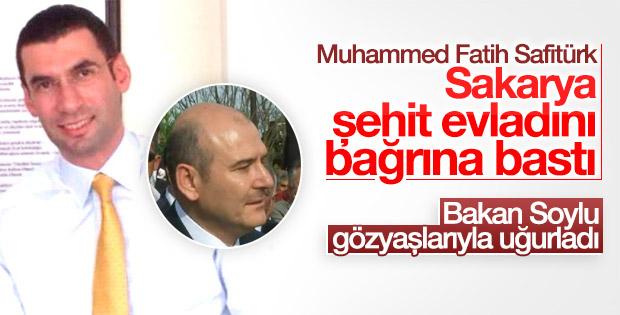 Şehit Kaymakam Muhammed Fatih Safitürk'e veda