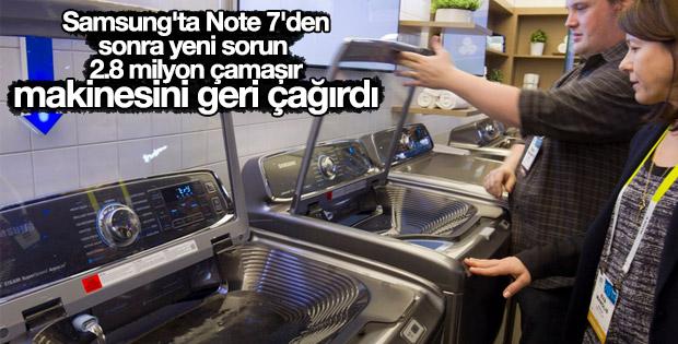 Samsung'ta yeni sorun: Çamaşır makineleri