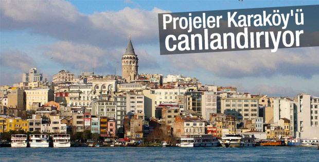 Ulaşım ağındaki çeşitlilik Karaköy'e talebi artırıyor