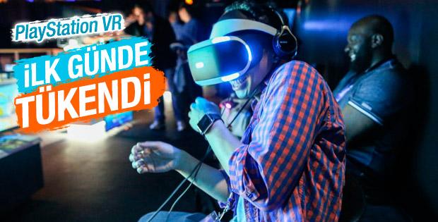 Sony'nin gözlüğü PlayStation VR ilk günden tükendi