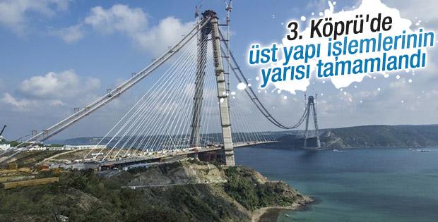 3. Köprü projesinde son durum