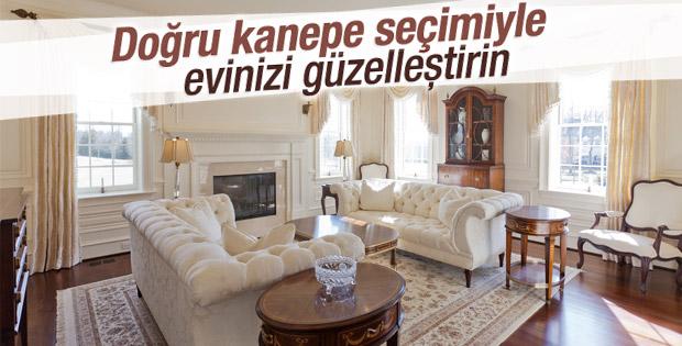 Doğru kanepe seçimiyle evinizi güzelleştirin