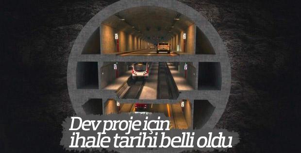 Büyük İstanbul Tüneli'nin ihale tarihi belirlendi