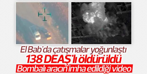 TSK'dan DEAŞ'a bombardıman