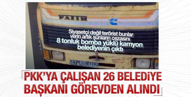 Efkan Ala: 26 belediye başkanı görevden uzaklaştırıldı