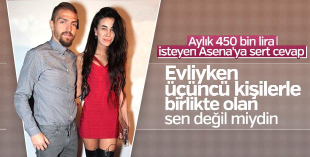 Caner Erkin'den Asena Atalay'a çok sert cevap