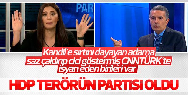 Hande Fırat ile Hakan Çelik'ten HDP'ye sert sözler