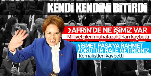 Akşener hem milliyetçileri hem Kemalistleri kaybetti