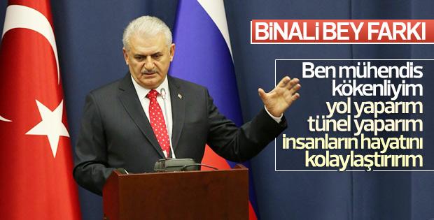 Başbakan Binali Yıldırım Rusya'da
