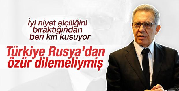 Zülfü Livaneli Rus sitesine konuştu:Türkiye özür dilemeli
