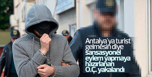 Antalya'da eylem hazırlığındaki 2 terörist yakalandı