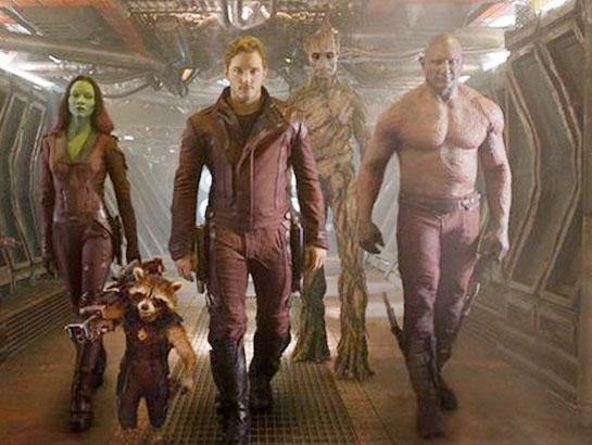 Guardians of The Galaxy'den yeni ayrıntılar - izle