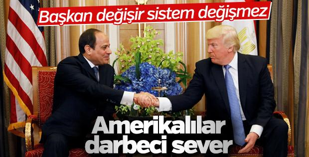 ABD Başkanı Trump, Sisi'yle görüştü