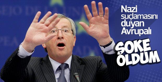 AB Komisyonu Başkanı Juncker: Nazi taşlamasına şoke oldum